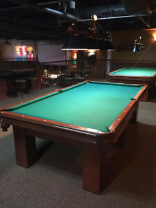 Used 9' pool table