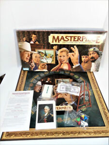 Masterpiece Art Auction Board Game 1996 100% Complete Parker Bro