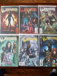 Wraithborn complete comic book series