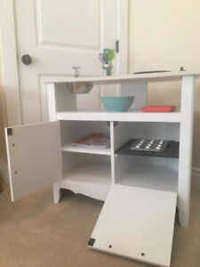 Wooden Hand Crafted Play Kitchen