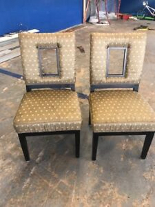 Two modern chairs in very good condition