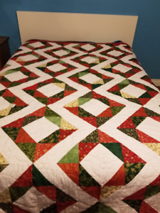 Christmas Quilt - Hand Made