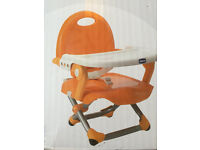 Portable Chicco highchair