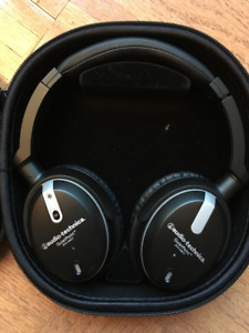 Noise Cancelling headphones-Audio Technica