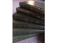 Charles Dickens vintage books wedding props