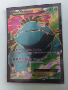 Carte pokemon Venusaur EX