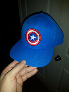 Captain America Snapback Hat