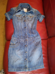 ESPRIT  denim dress Size 0 ladies
