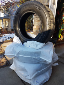 Brand New FORTERA HL M & S Tires 17""