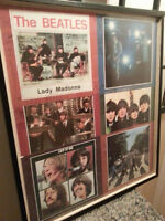 The Beatles - Framed Poster Collage - 6 Posters