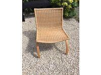 IKEA wicker/rattan chair