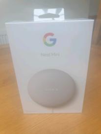 Brand New Google Nest Mini Speaker 2nd Generation Chalk Sealed