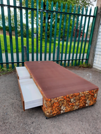 Single bed with drawers +mattress (delivery available