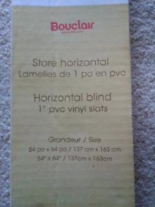Vinyl Horizontal Blind - Brand New!