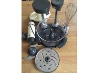 Faulty for parts only - Kmix kenwood food processor and hand blender