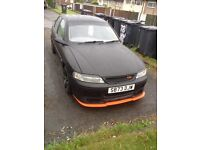 Matt black Vauxhall vectra 1998 1.6i 16v