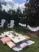 Shabby Chic Tea Party Decorations