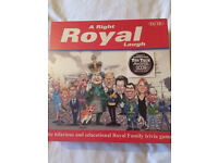 A right Royal laugh trivia game. New/sealed