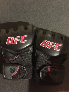 Leather UFC  gloves size L 10/10 condition