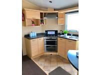 Stunning Pre owned 8 berth static caravan on the Ayrshire coast with patio doors
