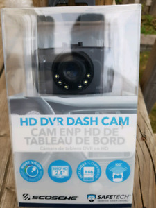 Scosche Hd Dvr Dash Camera Night Vision 2.4 720p 4gb Sd Ddvr1