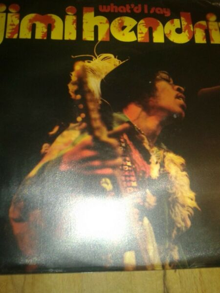 JIMI HENDRIX- WHAT'D I SAY MFP STEREO 5278, lp,UK