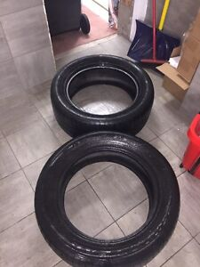 265/50R19 goodyear eagle f1 winter tires