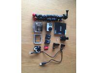 GoPro Hero 4 Black 4K plus accessories!