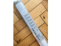 Ikea 'Tupplur' black-out roller blind, brand new in box, unused/ unopened. White.