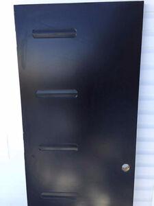 Porte exterieur 34 pouces noir pgi