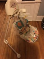 Battery Operated Fisher Price Swing