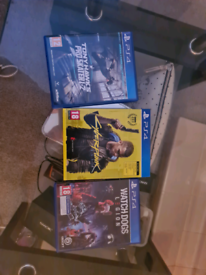 Three PS4 Games- Cyberpunk 2077, Watchdogs Legion and Tony Hawk