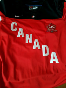 CHANDAILS TEAM CANADA JERSEY LARGE SIZE  RED OR WHITE NIKE