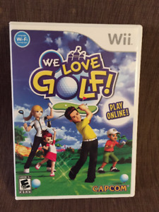 Wii games - $10! - Barbie, Bakugan, We love golf