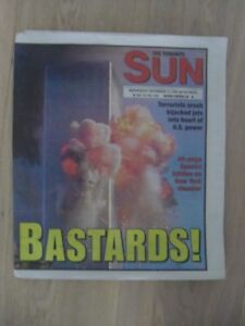 2001-NEW YORK Trade Center Disaster-Complete Newspapers