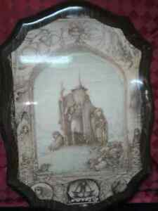 Rare Lord of the Rings  on Wood -Few in the WORLD MADE Windsor Region Ontario image 4