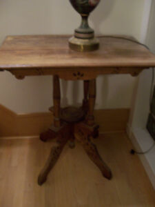 arts and crafts table/mission style