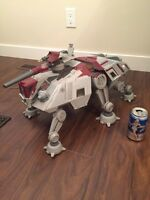 Star Wars Republic AT-TE Walker Vehicle