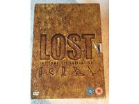 Lost DVD boxset the complete collection series 1-6 (new & sealed).