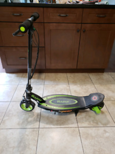 Battery powered scooter
