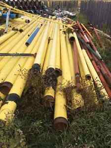 Reusable Metal, Pipe, Yellow Jacket, Culvert, Pilings, Posts Strathcona County Edmonton Area image 2