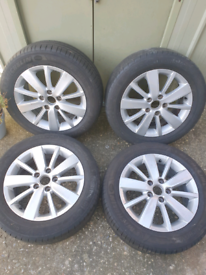 Vw 16 inch alloy wheels mk6
