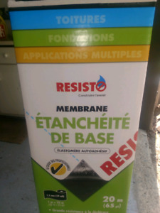 Membrane de base auto collante