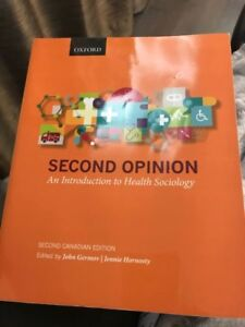 Second Opinion- An Introduction to Health Sociology