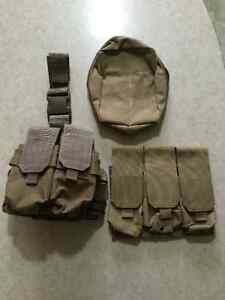 Assorted Paintball/Airsoft Pouches