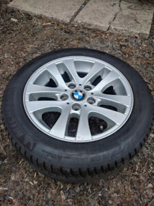 "Oem style 16"" BMW 156 wheels + Michelin primacy hp"