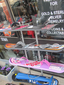 snowboards all 20.00 for kids