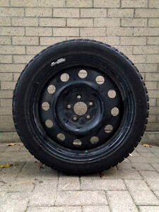 "4 Bridgestone Winter Tires with Rims (26"" Dia.)"