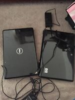 Laptop dell and hp