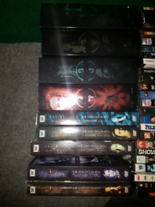 X-Files DVD collection